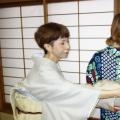 日本の衣【ゆかたの着付け】